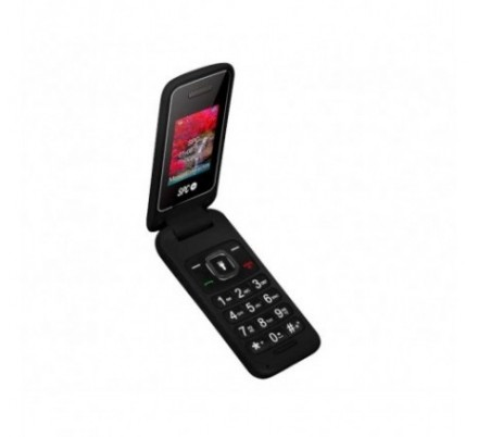 SPC TELEFONO MOVIL FLIP SENIOR BLACK