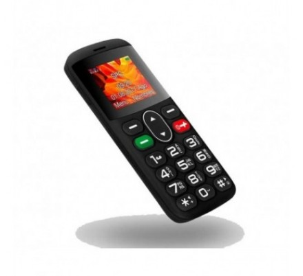 SPC TELEFONO MOVIL SYMPHONY SENIOR BLACK