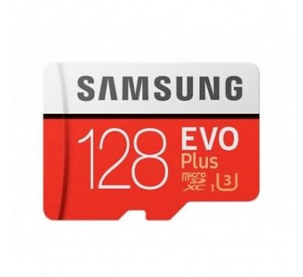 MICRO SD 128 GB EVO+ 1 ADAP. CLASS 10 SAMSUNG