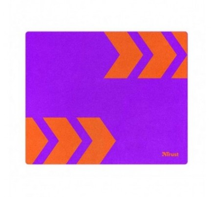 ALFOMBRILLA MOUSE PRIMO PURPLE/ORANGE TRUST