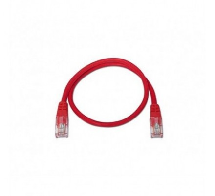 CABLE DE RED UTP CAT6 TIPO 3 M ROJO