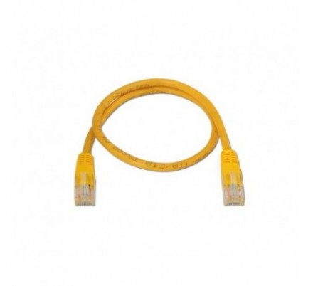 CABLE DE RED UTP CAT6 TIPO 3 M AMARILLO