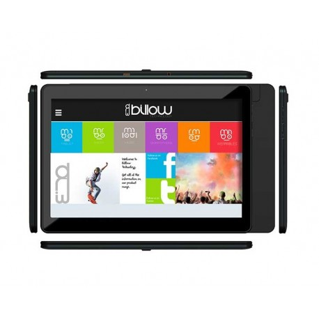 TABLET X101V2 10.1'' IPS 8 GB BLACK BILLOW