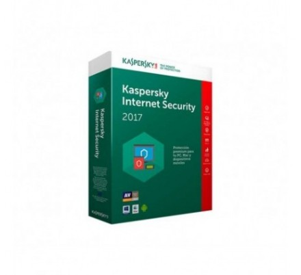 KASPERSKY INTERNET SECURITY MULTIDEVICE 2017 4 Lic.