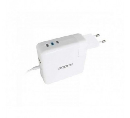 AC ADAPTER UNIVERSAL MACBOOK TYPE L 45W/60W/85W APPROX