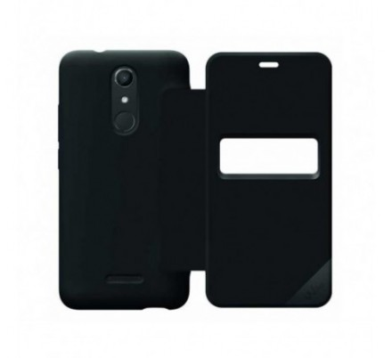 FUNDA SMART FOLIO WIBOARD NEGRA U PULSE LITE WIKO