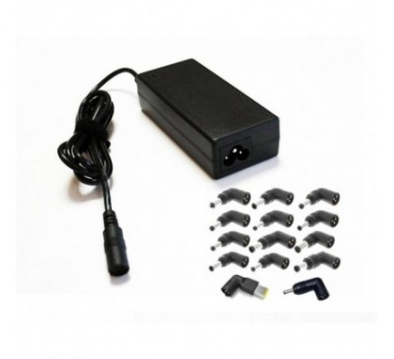 AC ADAPTER UNIVERSAL NOTEBOOK 65W COOLBOX