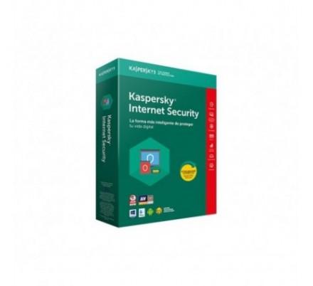 KASPERSKY INTERNET SECURITY MULTIDEVICE 2018 3 Lic. Renovacion