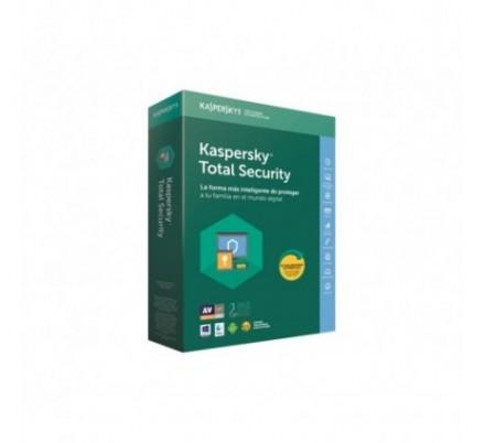 KASPERSKY TOTAL SECURITY MULTIDEVICE 2018 3 Lic.