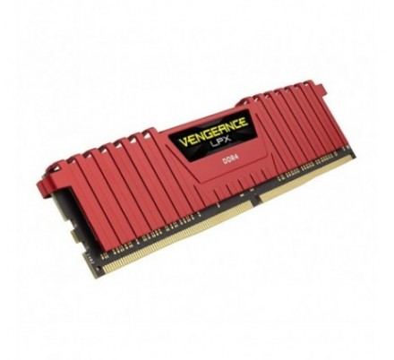 DDR4 4 GB 2400 VENGEANCE LPX RED CORSAIR
