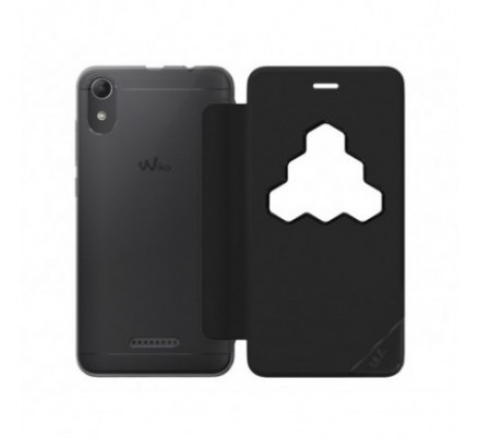 FUNDA SMART FOLIO WICUBE BLACK LENNY4 WIKO