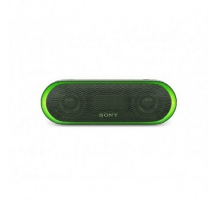 ALTAVOZ BLUETOOTH SRS-XB20G GREEN SONY