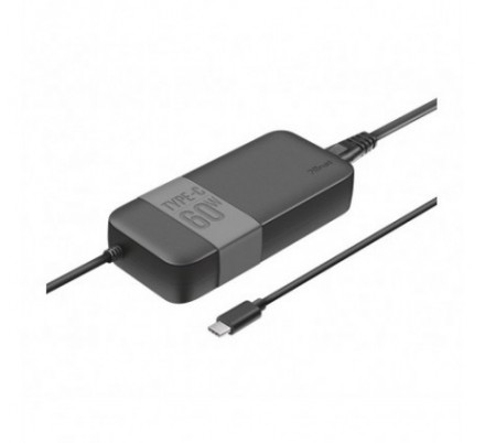 AC ADAPTER UNIVERSAL TYPE-C 60W BLACK TRUST