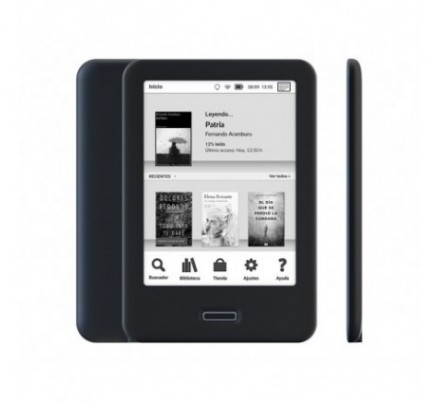 READER CERVANTES 4 HD 6'' NEGRO BQ