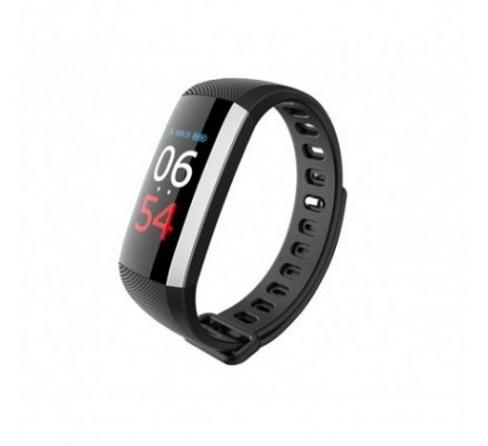 PULSERA FITNESS COLOR HEALTH NEGRA LEOTEC