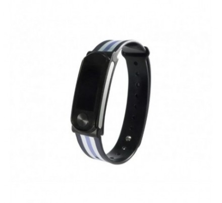 PULSERA SMARTBAND COOL HR STRIPES LEOTEC