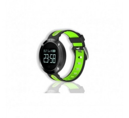 SMARTWATCH SPORT XS30 BLACK/GREEN BILLOW