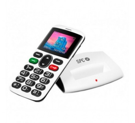 SPC TELEFONO MOVIL SYMPHONY SENIOR WHITE