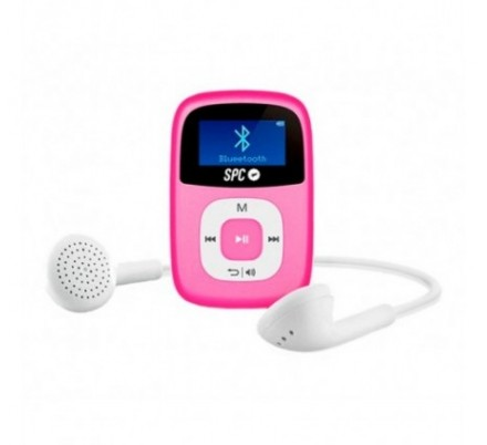 SPC REPRODUCTOR MP3 BLUETOOTH FIREFLY 8 GB PINK