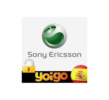 Liberar Sony Ericsson Yoigo