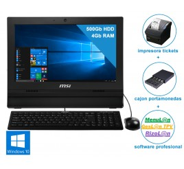 TPV MSI AIO PRO 16T (pack completo)