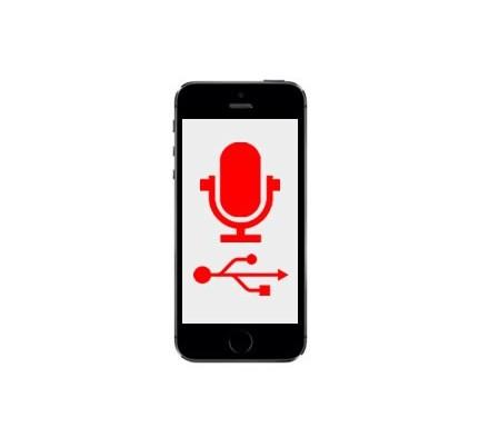 Cambio Conector Carga y Micrófono Iphone SE