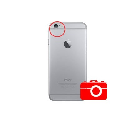 Cambio Cámara Trasera Iphone 8