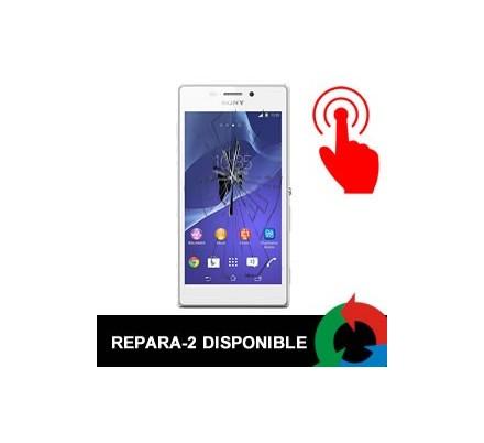 Cambio Táctil Xperia M Blanca