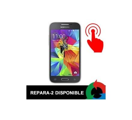 Cambio Tactil Samsung Galaxy Core Negro / Azul