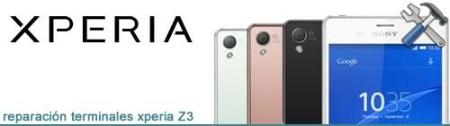 Reparaciones Xperia Z3